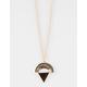 FULL TILT Geo Half Moon/Triangle Long Necklace