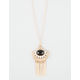FULL TILT Fringe Pendant Stone Necklace