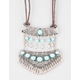 FULL TILT Double Turquoise Statement Necklace