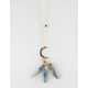 FULL TILT Moon Crystals Necklace