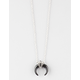 FULL TILT Half Moon Horn Necklace