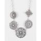 FULL TILT 5 Piece Antique Flower Necklace