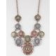 Medallion Stone Necklace