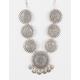 FULL TILT 7 Piece Medallion Necklace