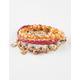 FULL TILT 5 Piece Braided/Coin Bracelets