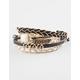FULL TILT 5 Piece Stone/Chain Bracelet Set