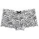 Printed Zebra Lace Boyshorts