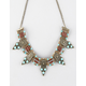 FULL TILT Turquoise Bead/Stone Statement Necklace