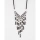 FULL TILT Cord Fringe Bead Necklace