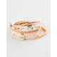 FULL TILT 5 Piece Infinity/Love Friendship Bracelets