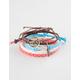 FULL TILT 5 Piece Tree/Infinity Bracelets