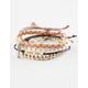FULL TILT 5 Piece Love You/Stud Bracelets