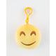 Plush Emoji Smile Keychain