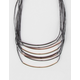 FULL TILT 8 Row Cord Necklace