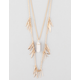 FULL TILT Crystal/Matchstick Layer Necklace