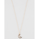 FULL TILT Moon Cutout Necklace
