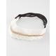 FULL TILT 3 Piece Crochet/Suede Headbands