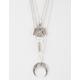 FULL TILT Crystal/Bird/Horn Layer Necklace