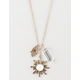 FULL TILT Sun/Hamsa Charm Necklace