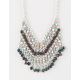 FULL TILT Fringe Statement Necklace