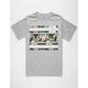 ASPHALT Island Stripes Mens T-Shirt