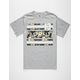 AYC Island Stripes Mens T-Shirt