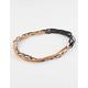 FULL TILT 3 Piece Beaded Braid Headbands