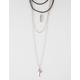 FULL TILT 4 Layer Arrow Cord Necklace