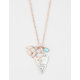 FULL TILT Arrowhead/Bird Charm Necklace