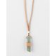 FULL TILT Wrapped Crystal Cord Necklace