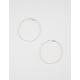 FULL TILT Textured Hoop Earrings