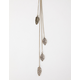 FULL TILT Leaves Lariat Necklace
