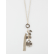 FULL TILT Leaf/Chain/Stone Necklace
