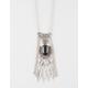 FULL TILT Cab Fringe Pendant Necklace