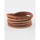 FULL TILT Suede Stud Wrap Bracelet