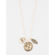 FULL TILT Lucky Elephant Cluster Necklace