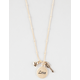 FULL TILT Love/Arrow Cluster Station Necklace