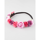 FULL TILT Pink Flower Crown