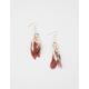 FULL TILT Feather Charm Earrings