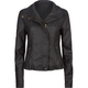 INFAMOUS Ashley Womens Faux Leather Jacket