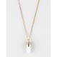 FULL TILT Crystal Emblem Necklace