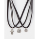 FULL TILT Layered Choker Charm Necklace