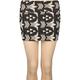 FULL TILT Geometric Print Bodycon Skirt