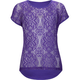 FULL TILT Open Weave Crochet Girls Top