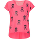 FULL TILT Skulls Lace Back Girls Top
