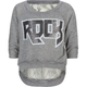 FULL TILT Rock Lace Back Girls Sweater