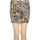 FULL TILT Animal Print Bodycon Skirt