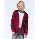 METAL MULISHA Recover Womens Hooded Flannel