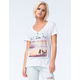 HURLEY Good Times Womens V-Neck Tee