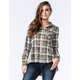 WHITE CROW Little Sparrow Womens Flannel Shirt